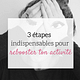3 étapes pour rebooster ton activité