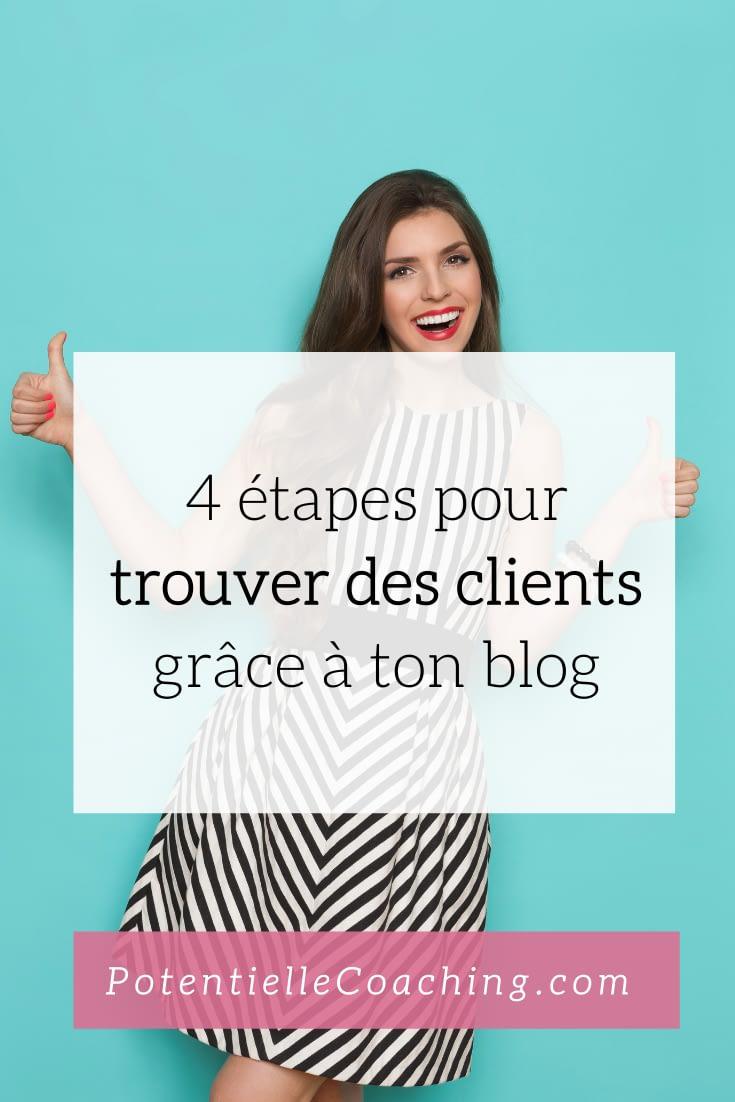 4 étapes pour trouver des clients grâce à ton blog
